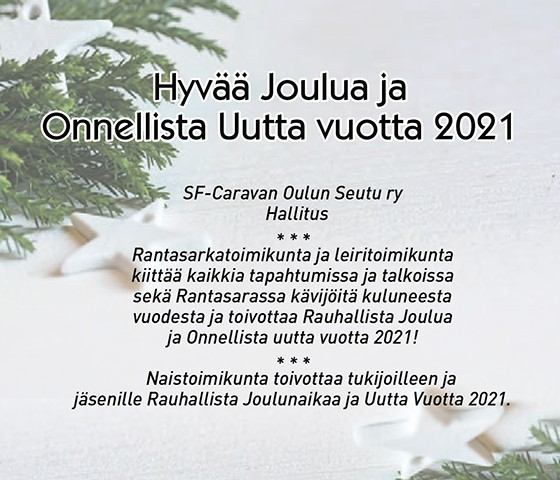 Raskasta Joulua 2021 Oulu
